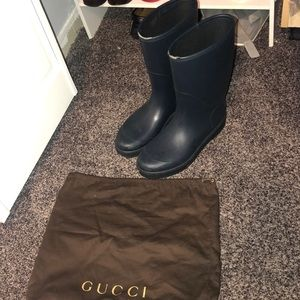 Gucci Men Rain boots size 9